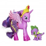 Figurine Mon petit poney À travers le miroir : Twilight Sparkle et dragon Spike