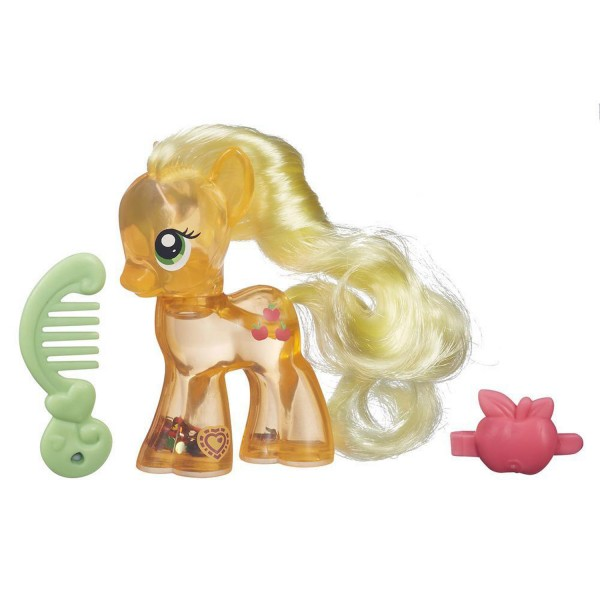 Figurine My Little Pony : Paillettes magiques : Applejack - Hasbro-B0357-B5416