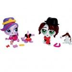Figurine Petshop : Deux Petshop à  customiser: Zoé et Phillipe