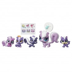 Figurine Petshop : Familles de 5 Petshop : L'Aroma