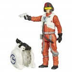 Figurine Star Wars A 10 cm : Poe Dameron