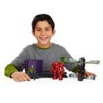 Figurines Avengers avec playset : Base d'entraînement de Hulk