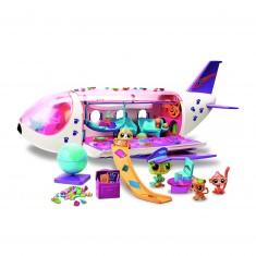 Figurines Petshop : L'avion Littlest PetShop