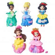 Figurines Princesses Disney : 5 mini figurines Little Kingdom