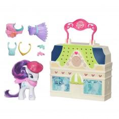 Mallette de jeu et figurine My Little Pony : Boutique de vêtements