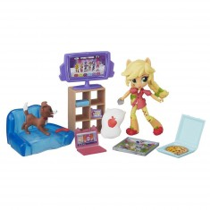 Mini-poupée My Little Pony :  Apple Jack soirée jeux