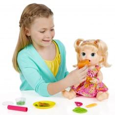Poupée Baby Alive : Sara ma poupée gourmande