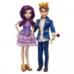 Poupée Disney Descendants : Pack de 2 poupées : Ben et Mal