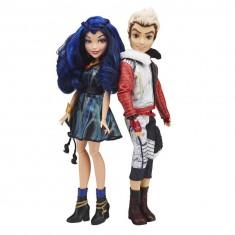 Poupée Disney Descendants : Pack de 2 poupées : Carlos et Evie