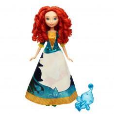 Poupée Disney Princesses : Merida robe magique