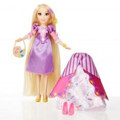 Poupée Disney Princesses : Raiponce et ses tenues