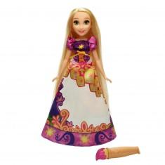 Poupée Disney Princesses : Raiponce robe magique
