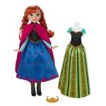 Poupée La Reine des Neiges (Frozen) : Anna et tenues