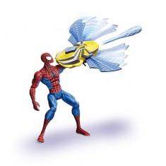 Spiderman - Figurine avec mega canon lance-missiles