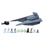 Vaisseau Star Wars Command radiocommandé avec figurines : Star Destroyer