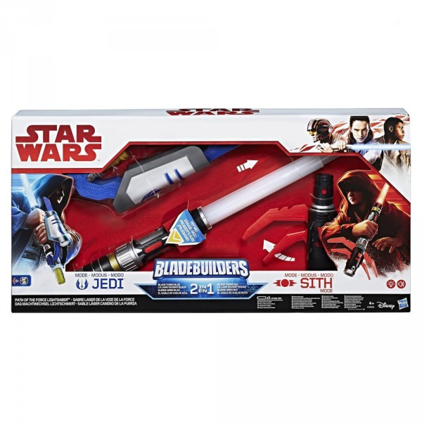 Sabre laser 2 en 1 Choisis ta force : Star Wars - HASBRO-C1412EU40