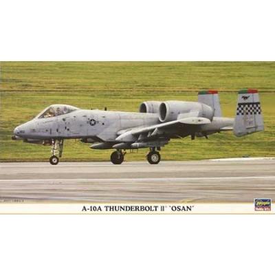 Maquette avion: A-10 Thunderbolt II OSAN - Hasegawa-00903