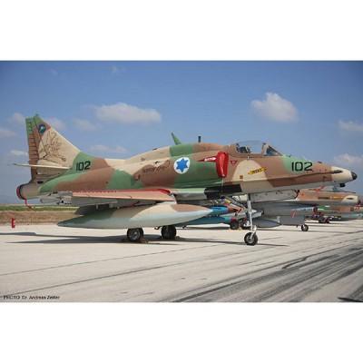 Maquette avion: A-4N Israeli AF - Hasegawa-09943