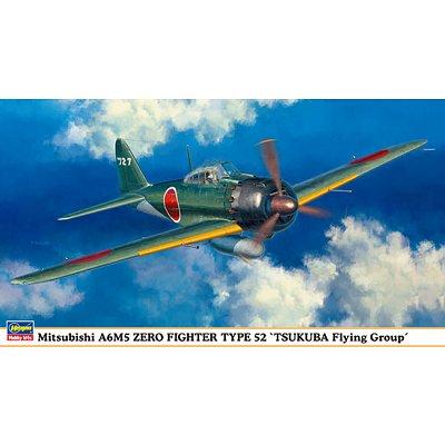 Maquette avion: A6M5 ZeroTsukuba  - Hasegawa-09891