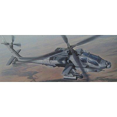 Maquette hélicoptère: AH-64A Apache Iraqi Freedom - Hasegawa-00825