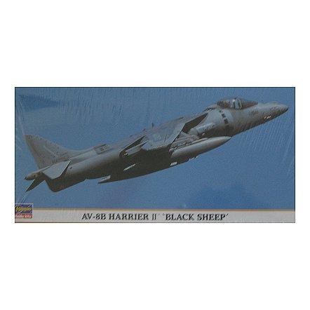 Maquette avion: AV-8B Harrier II Black Sheep - Hasegawa-00766