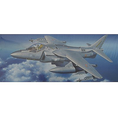 Maquette avion: AV-8B Harrier II  PLUS Italian Navy - Hasegawa-00642