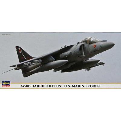 Maquette avion: AV-8B US Marine Corps - Hasegawa-00883