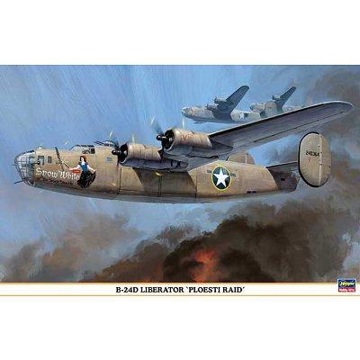 Maquette avion: B-24D Liberator Ploesti Raid - Hasegawa-00961