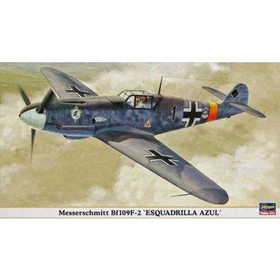 Maquette avion: BF109F-2 Esqauidrilla Azul - Hasegawa-09794