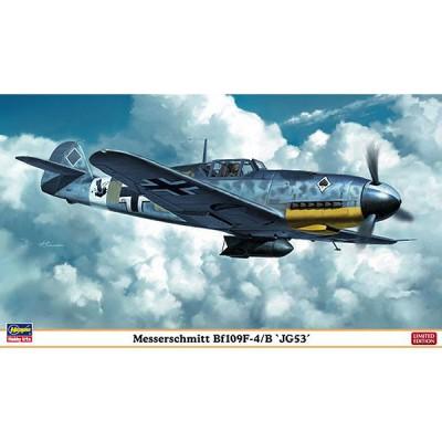 Maquette avion: Bf109F-4/B JG53 - Hasegawa-09945
