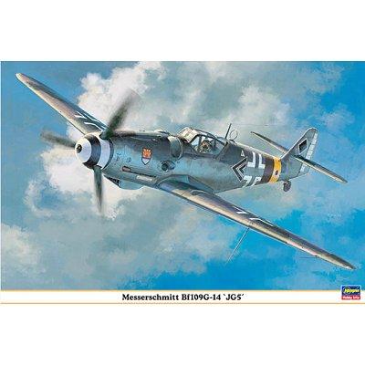 Maquette avion: Messerschmitt BF109G-14 JG5 - Hasegawa-08191