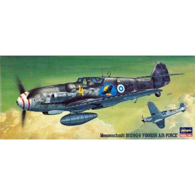 Maquette avion: Bf109G-6 Finnish AF  - Hasegawa-00916
