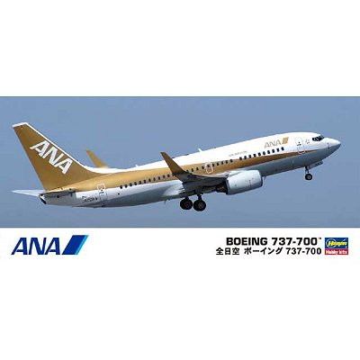 Maquette avion: Boeing 737-700 Ana - Hasegawa-10735