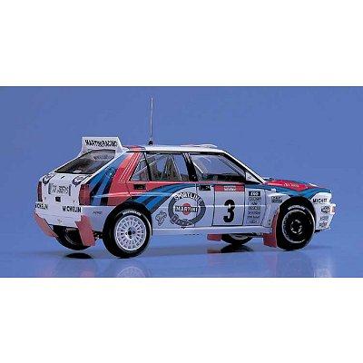 Maquette voiture : Lancia Super Delta 1992 WRC - Hasegawa-25015