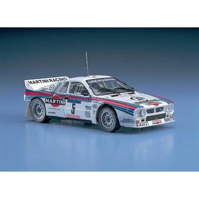 Maquette voiture : Lancia 037 1984 Tour de Corse - Hasegawa-25030