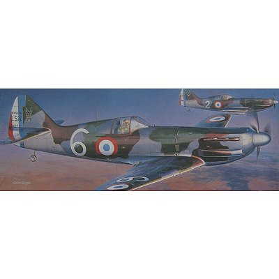 Maquette avion: Dewotoine D.520 French Air Force - Hasegawa-51347