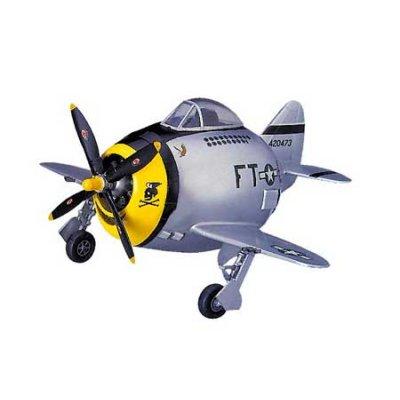 Maquette avion: Egg Plane : P-47 Thunderbolt - Hasegawa-60120
