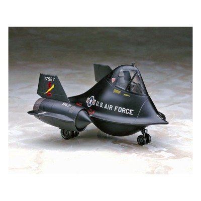 Maquette avion: Egg Plane: SR-71 Blackbird - Hasegawa-60128