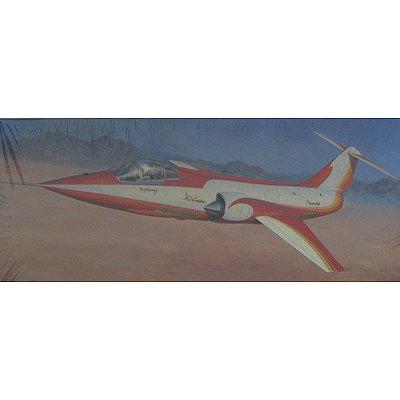 Maquette avion: F-104 StarFighter Red Baron - Hasegawa-00856