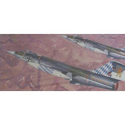 Maquette avion: F-104G StarFighter NATO Fighter - Hasegawa-07220