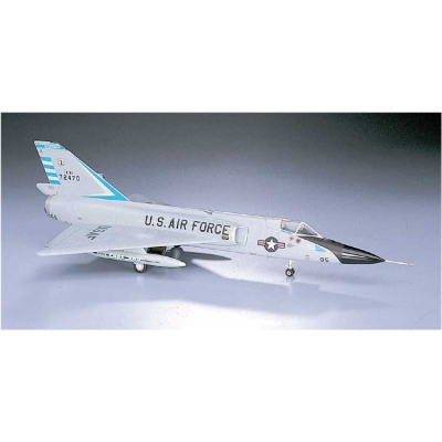 Maquette avion: F-106A Delta Dart - Hasegawa-00341