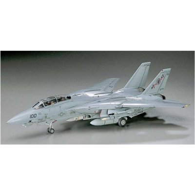 Maquette avion: F-14A Tomcat Low Visibility - Hasegawa-00532