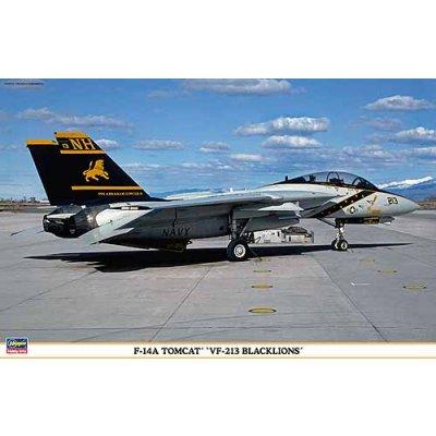 Maquette avion: F-14A Tomcat VF-213 Blacklions - Hasegawa-09814