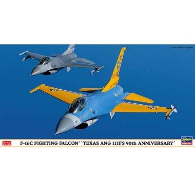 Maquette avion: F-16C Fighting Falcon Texas ANG 111FS 90th Anniversary - Hasegawa-09811