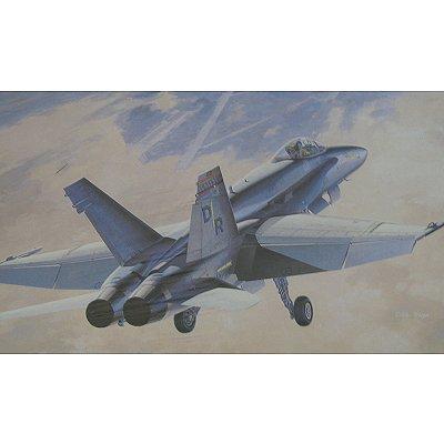 Maquette avion: F-18A Hornet USMC - Hasegawa-07025