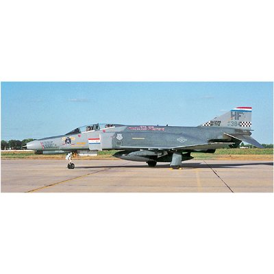 Maquette avion: F-4E Phantom II Indiana Ang Special - Hasegawa-09859