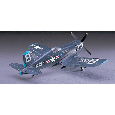 Maquette avion: F4U-4 Corsair - Hasegawa-09125