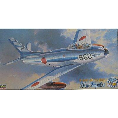 Maquette avion: F86-F-40 Sabre Blue Impulse - Hasegawa-07215