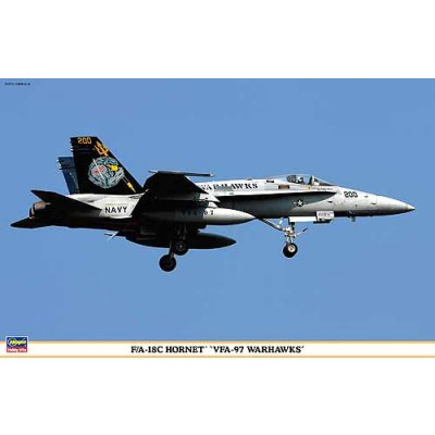 Maquette avion: F/A-18C Hornet - VFA-97 Warhawks - Hasegawa-09829