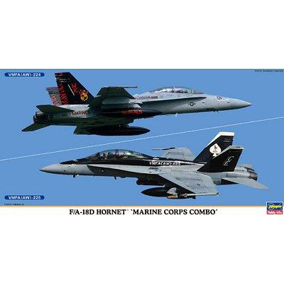 Maquette avion: F/A-18D Hornet Marine - Hasegawa-00982
